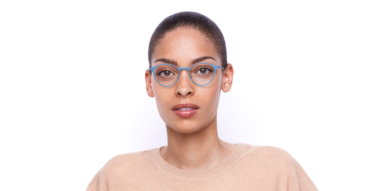 Óculos graduados senhora OXYGEN BLSL azul/prateado
