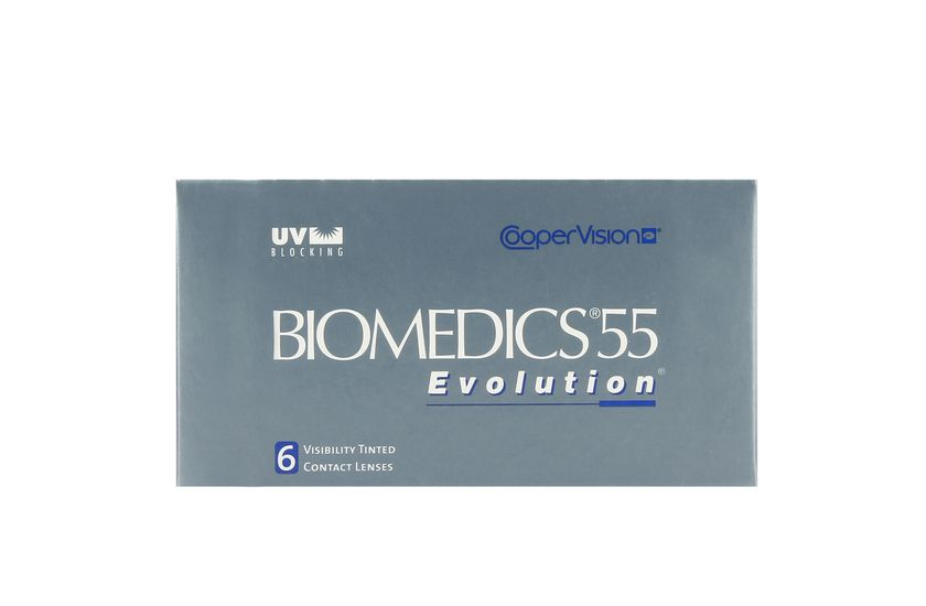 Lentilles de contact Biomedics® Evolution 6L - vue de face