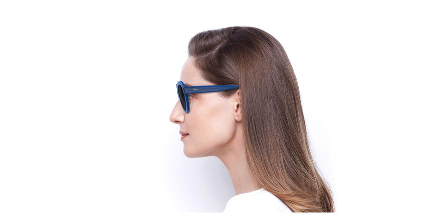 Óculos de sol senhora ALYSSA SAF azul - Vista lateral