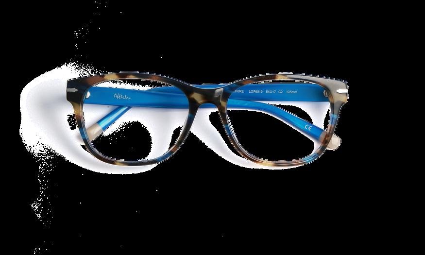 Lunettes de vue femme YORKSHIRE bleu
