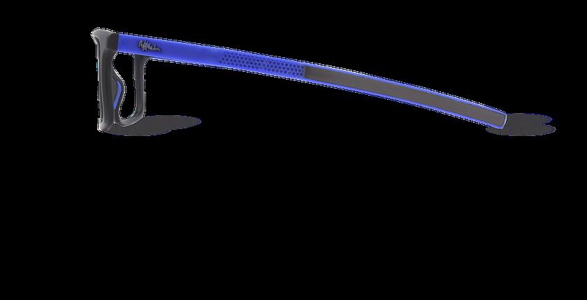 Lunettes de vue homme SERGE noir - Vue de côté