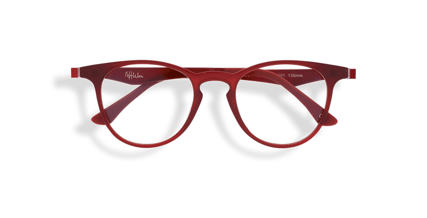 Lunettes de vue MAGIC 27 BLUEBLOCK rouge - Vue de face