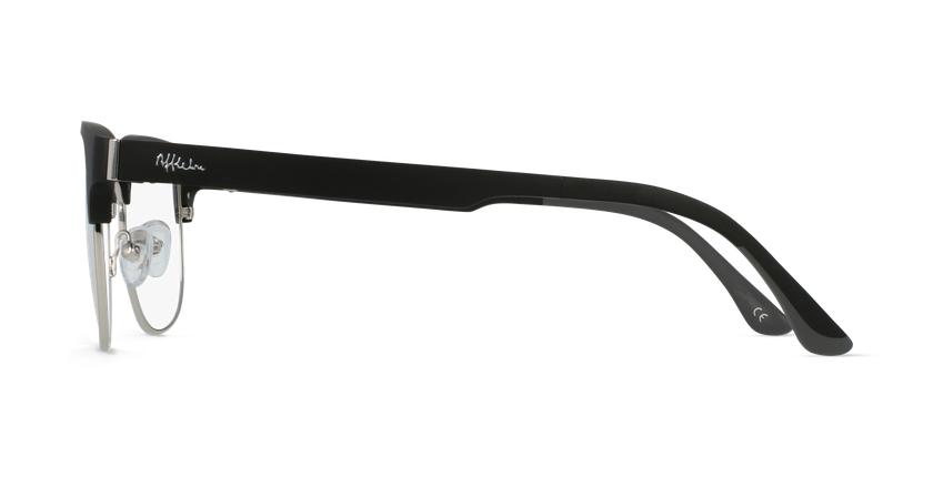 Óculos graduados MAGIC 34 BK BLUEBLOCK - BLOQUEIO LUZ AZUL preto/prateado - Vista lateral