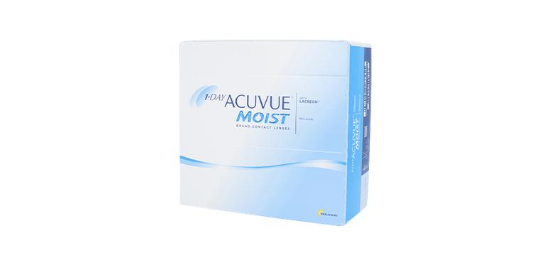 Lentilles de contact 1 Day Acuvue® Moist® 180L