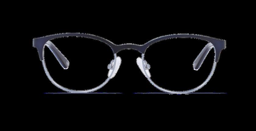 Lunettes de vue femme ESMERALDA bleu - Vue de face