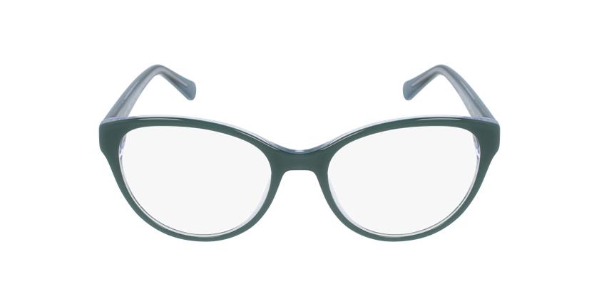 Óculos graduados senhora OAF20521 GR (TCHIN-TCHIN+1) verde - Vista de frente