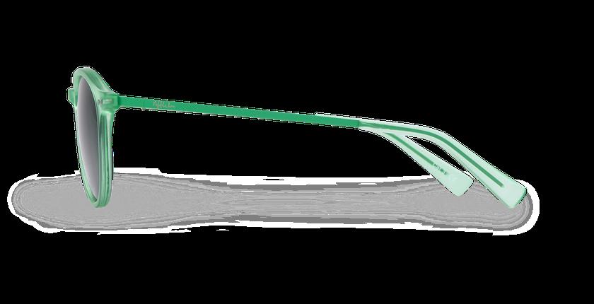 Gafas de sol mujer ALEGRIA verde - vista de lado