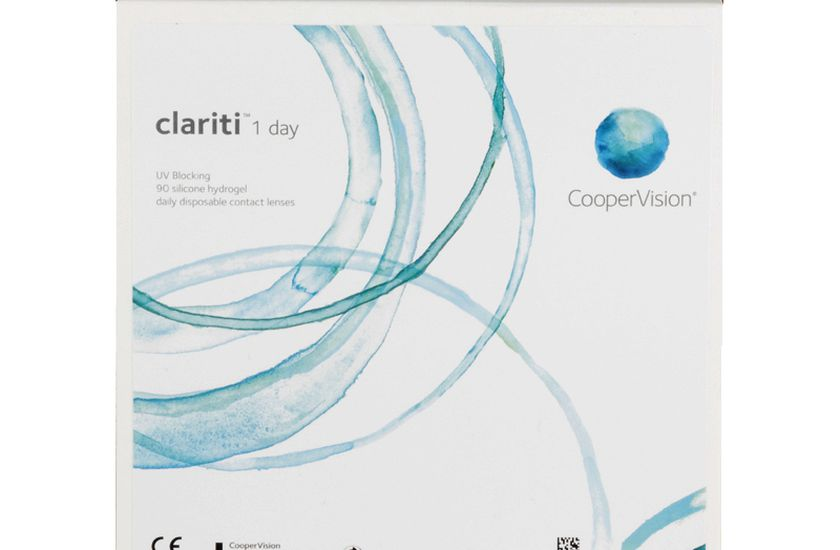 Lentilles de contact Clariti 1 Day 90L - vue de face