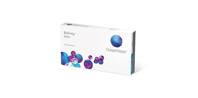 Lentilles de contact Biofinity® toric 6L
