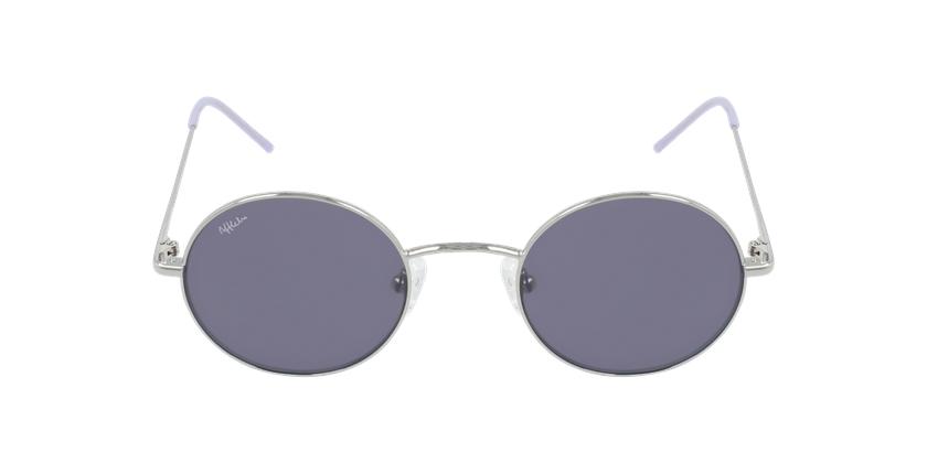 Óculos de sol MOSTOLES SL prateado/violeta - Vista de frente