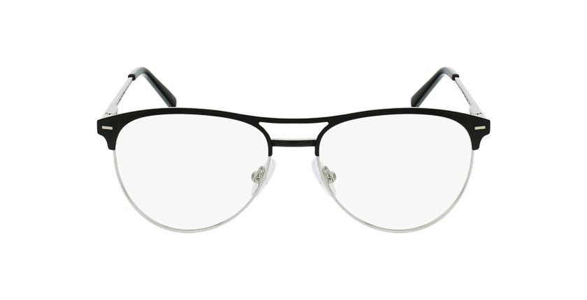 Óculos graduados senhora MILES BK (TCHIN-TCHIN +1€) preto - Vista de frente