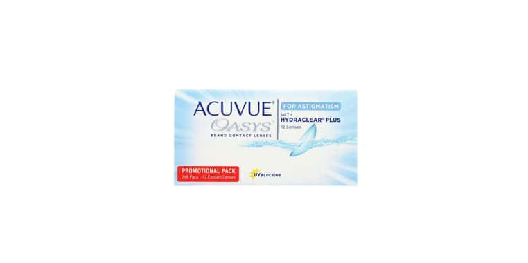 Lentilles de contact Acuvue® Oasys® for Astigmatism 12L