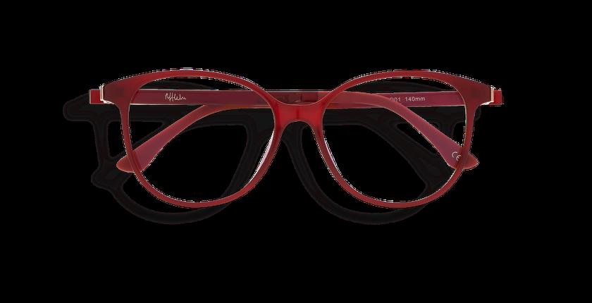 Lunettes de vue femme MAGIC 29 BLUEBLOCK rouge - Vue de face