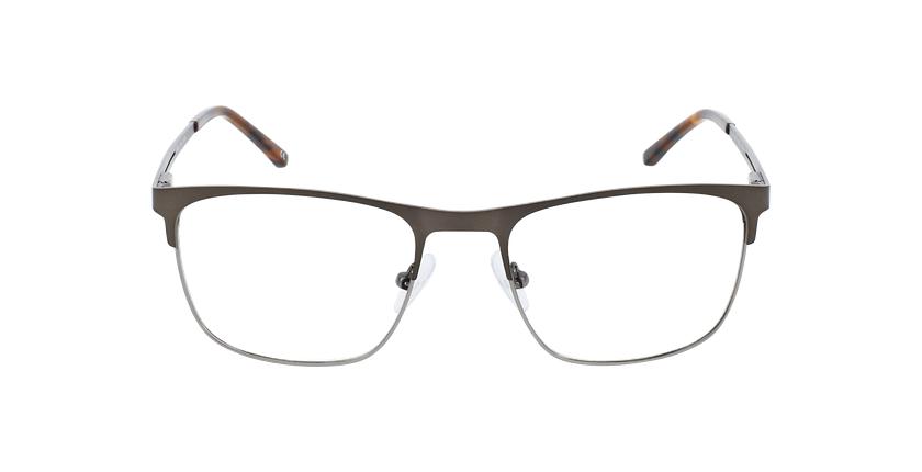 Óculos graduados homem VADIM GY (TCHIN-TCHIN +1€) cinzento/prateado - Vista de frente