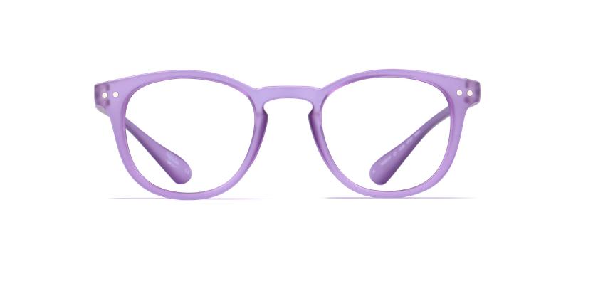 Óculos graduados MOD01P violeta - Vista de frente