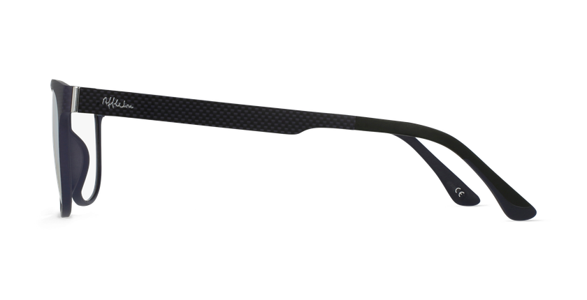Óculos graduados homem MAGIC 33 BK BLUEBLOCK - BLOQUEIO LUZ AZUL preto - Vista lateral