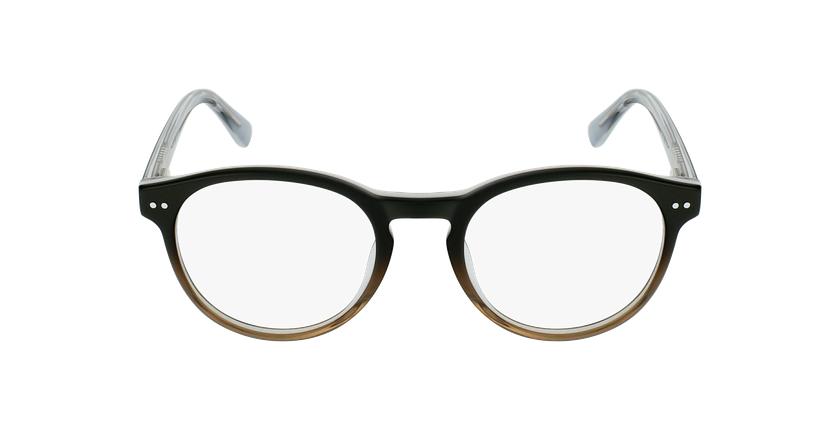 Óculos graduados criança LIV BK (TCHIN-TCHIN +1€) preto/cinzento - Vista de frente