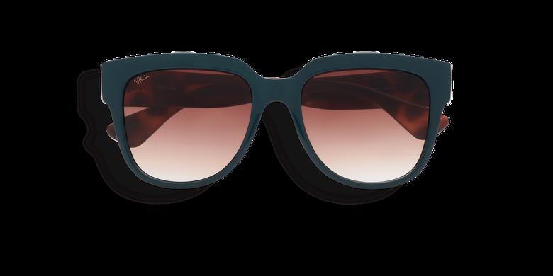Óculos de sol senhora OSANA (Tchin-Tchin +1€) verde/tartaruga