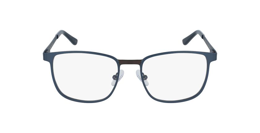 Óculos graduados homem Gildas blgu (Tchin-Tchin +1€) azul/cinzento - Vista de frente