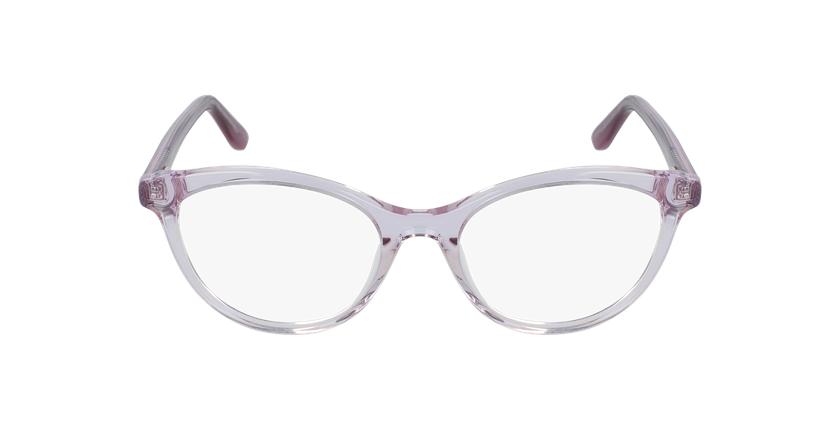 Óculos graduados senhora Amelle pk (Tchin-Tchin +1€) rosa - Vista de frente
