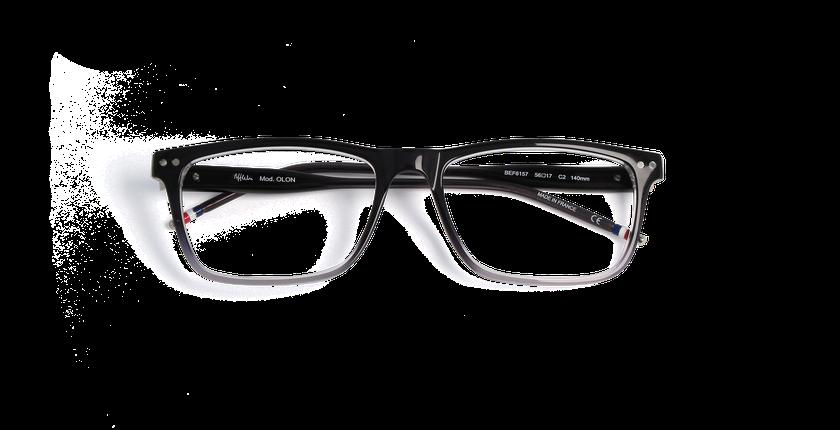 Lunettes de vue homme OLON noir - vue de face