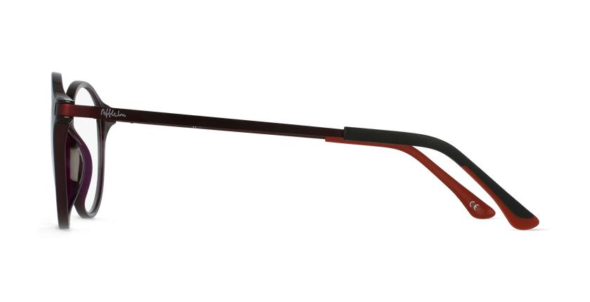 Óculos graduados senhora MAGIC 37 PU BLUEBLOCK - BLOQUEIO LUZ AZUL violeta - Vista lateral