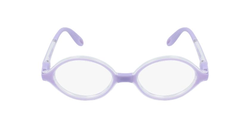 Óculos graduados criança RFOB1 PU REFORM violeta - Vista de frente