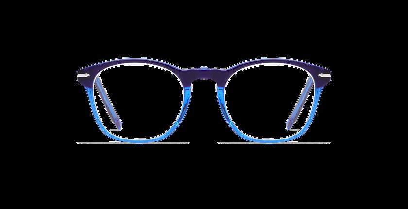Lunettes de vue homme LONGCHAUMOIS bleu - Vue de face