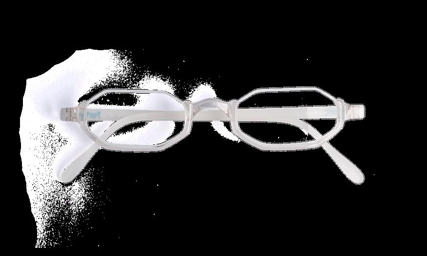 Lunettes de vue AFFLELOU FORTY cristal