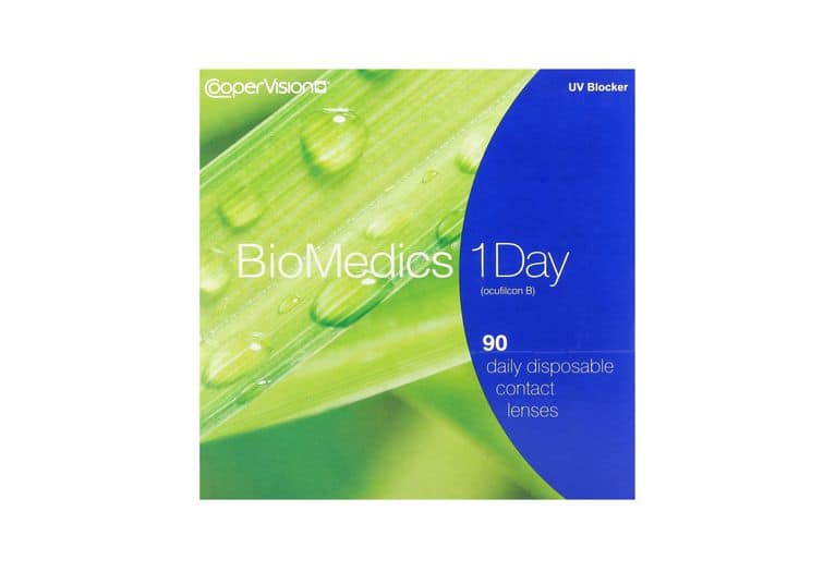 Lentilles de contact Biomedics® 1day 90L