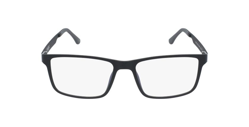 Óculos graduados homem MAGIC 59 BLUEBLOCK - BLOQUEIO LUZ AZUL preto - Vista de frente