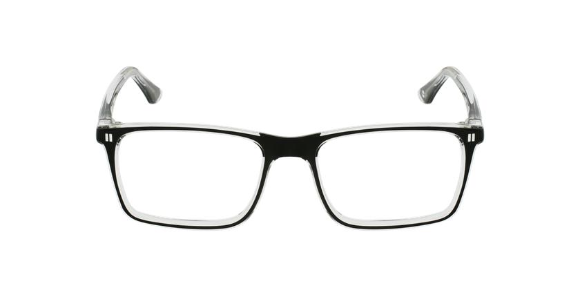 Óculos graduados criança REFORM TEENAGER (J1BK) preto - Vista de frente