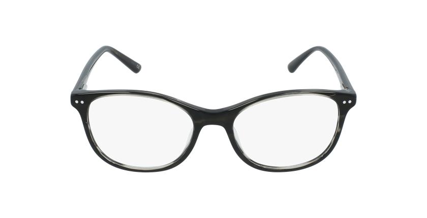 Óculos graduados criança PAULA BK (TCHIN-TCHIN +1€) preto - Vista de frente