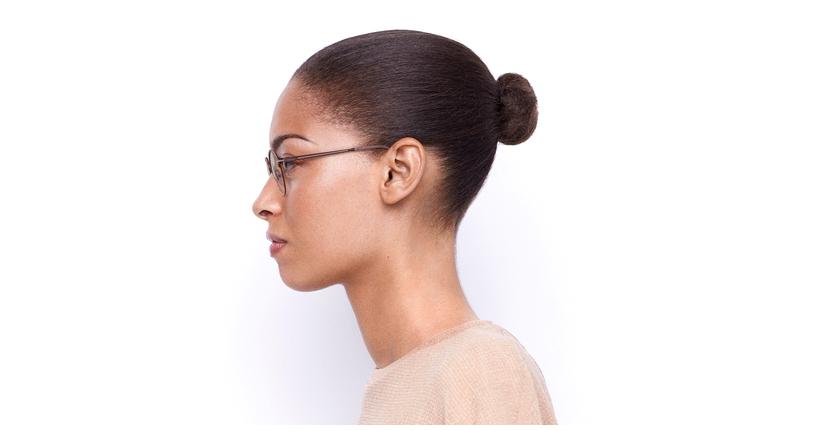 Óculos graduados senhora VENUS BUPK vermelho/rosa - Vista lateral