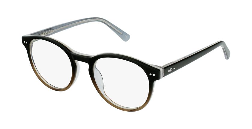 Óculos graduados criança LIV BK (TCHIN-TCHIN +1€) preto/cinzento - vue de 3/4
