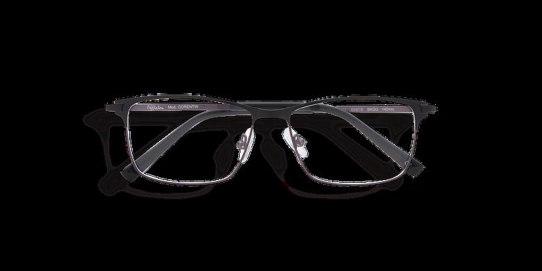Óculos graduados homem CORENTIN (Tchin-Tchin +1€) preto/cinzento