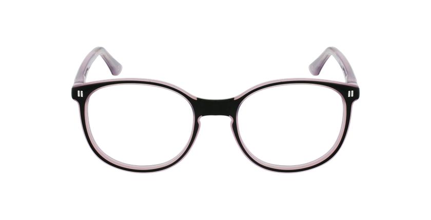 Óculos graduados criança REFORM TEENAGER (J5 BKPK) preto/violeta - Vista de frente