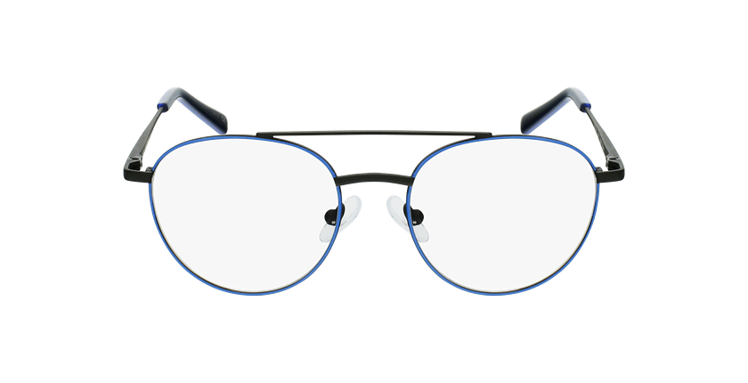 Óculos graduados criança NINO BLBK (TCHIN-TCHIN +1€) azul/preto - Vista de frente