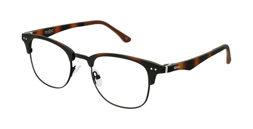 Óculos graduados MAGIC 92 TO ECO FRIENDLY tartaruga/preto - vue de 3/4