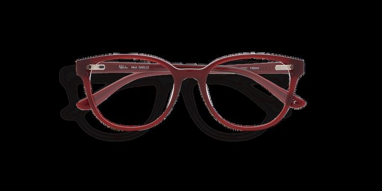 Óculos graduados senhora GAELLE (Tchin-Tchin +1€) vermelho