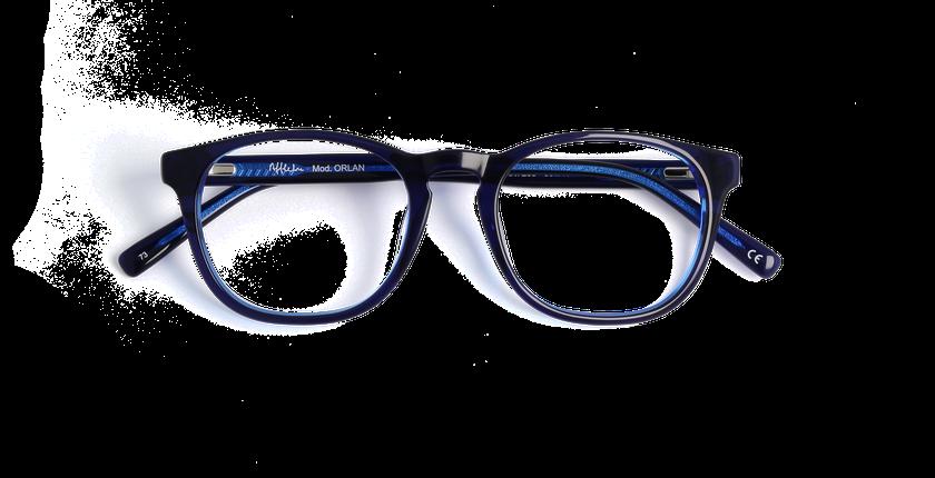 c3f3c2002 ... Óculos graduados homem OAH7233 azul - Vista de frente ...