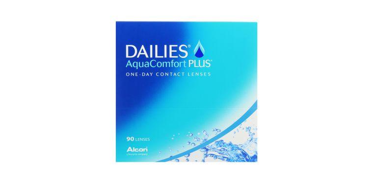 Lentilles de contact Dailies AquaComfort Plus 90L
