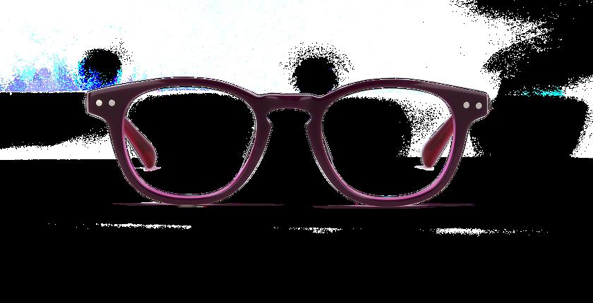 Lunettes de vue enfant SASHA violet - vue de face