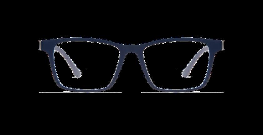 Gafas graduadas hombre SMART TONIC 01 azul/azul mate / azul oscuro - vista de frente