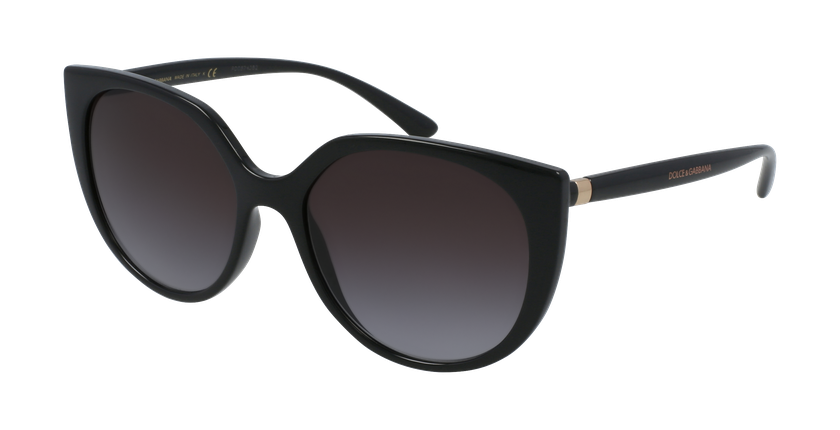 Gafas de sol mujer 0DG6119 negro - vue de 3/4