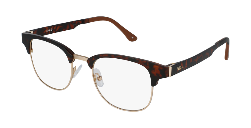 Óculos graduados MAGIC 34 TO BLUEBLOCK - BLOQUEIO LUZ AZUL tartaruga /dourado - vue de 3/4