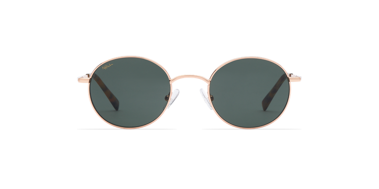 Óculos de sol ROMAN SAM dourado
