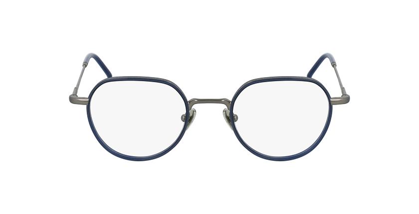 Óculos graduados DEBUSSY BL prateado/azul - Vista de frente