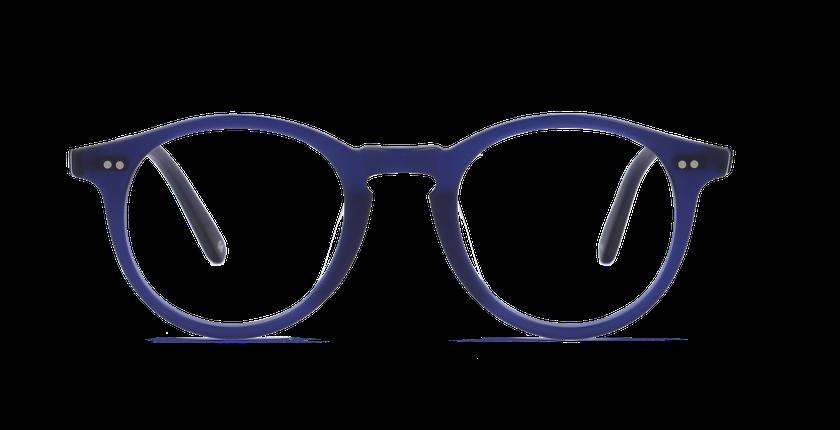 Lunettes de vue homme CANBERRA bleu - vue de face
