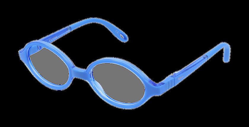 Lunettes de vue enfant RFOB1 bleu - vue de 3/4